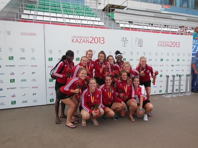 Congrats to the Canadian Women's Rugby Sevens Team for winning the Bronze at the 27th Summer Universiade in Kazan, Russia. The team used Topricin on a daily basis to give them the winning edge! One player pulled her hamstring in training camp, and the team didn't expect her to be able to go (or last) the entire tournament. Well, she did, scoring a try in the final game vs. Great Britain! She used Topricin twice a day, every day after pulling her hamstring.