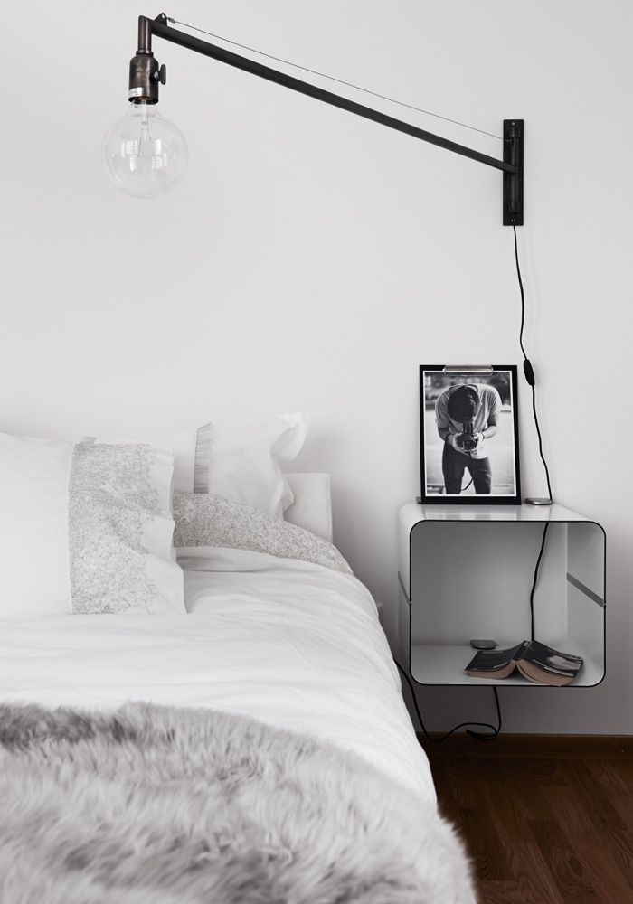 Objects Of Design 46 Swing Arm Light Lighting Pinterest Bedroom House And Home