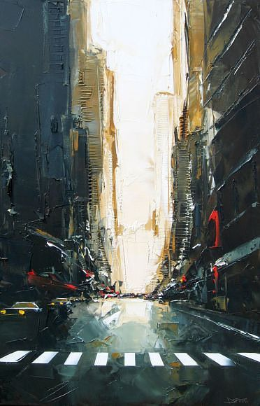 Best Clairobscure Images On Pinterest Amazing Photography - Astonishing photorealistic paintings of places seen through wet car windshields