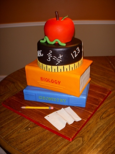 Education Cake Contest By Karolynandrea On Cakecentral Com