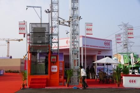 Everest Engineering Equipment Pvt Ltd at Bauma India 2014 For more details please visit www.everestengg.in