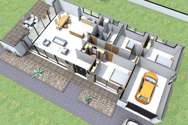 264 best images about maison on pinterest for Constructeur maison contemporaine 08