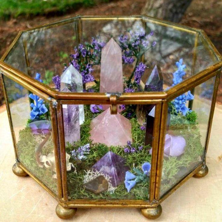 crystal terrarium                                                       …