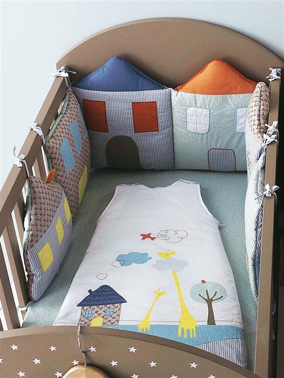 NOWOŚĆ pościel ,,Small Little Houses,, 60x120cm