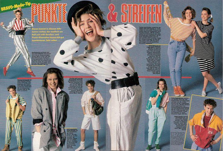 Die modische Rebellion der 80er