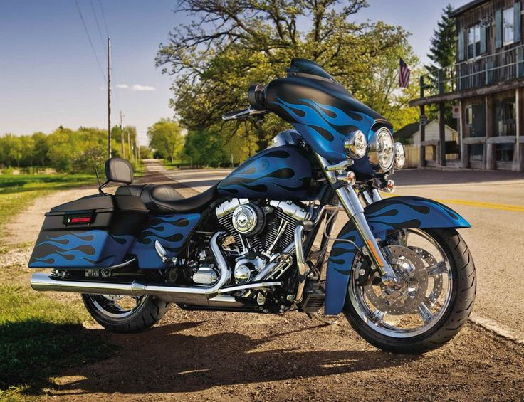 Harley Davidson Blue Flame Bikes Pinterest Motorcycle Pictures 2011