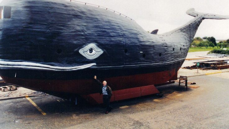 Former SAS trooper planning to cross the Atlantic in a giant 65 foot homemade whale
