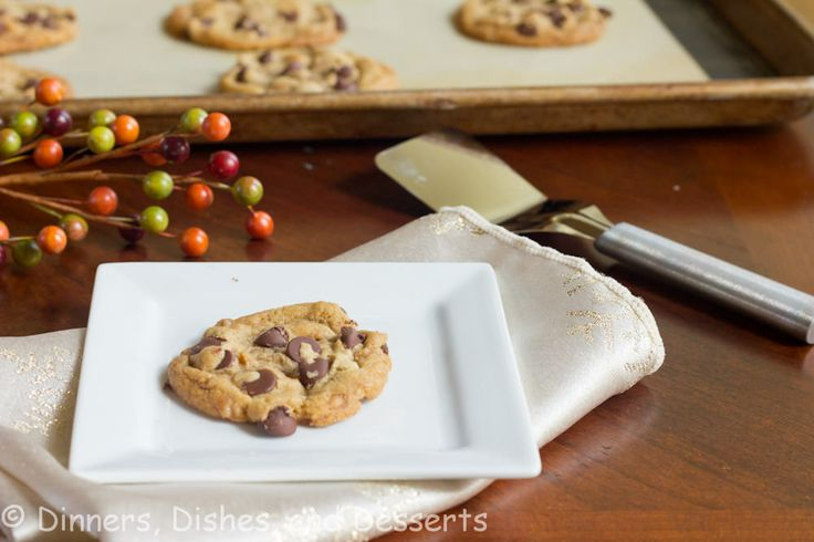 Brown Butter Toffee Chocolate Chip Cookies | Dinners, Dishes, and Desserts