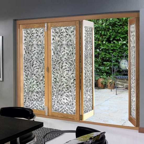Decorative Window Film Is Used To Provide Privacy To Your
