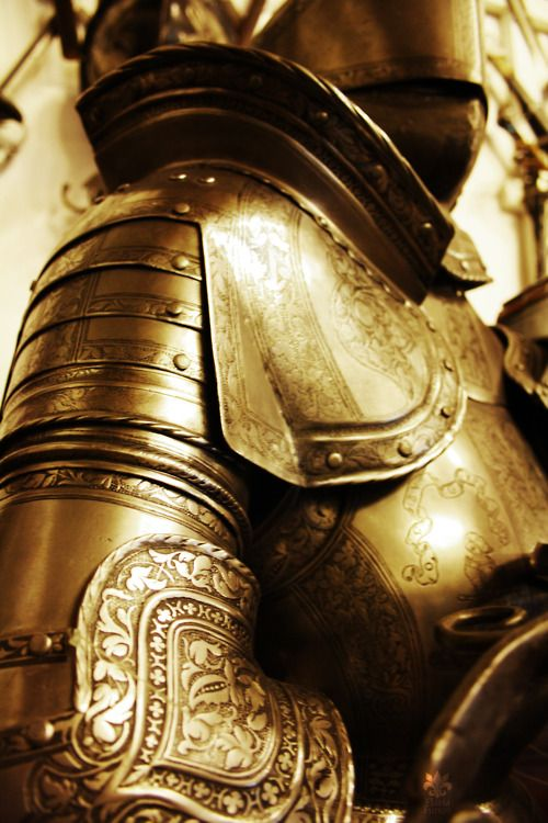 Cool armor! I love the history and books about King Arthur and his knights of the round table.