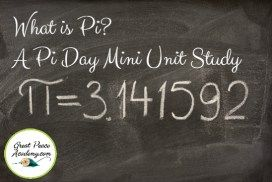 What is Pi/ A Pi Day Mini Unit Study | GreatPeaceAcademy.com