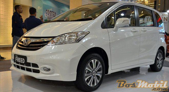 New Honda Freed : Sedikit Ubahan Percantik Tampilan