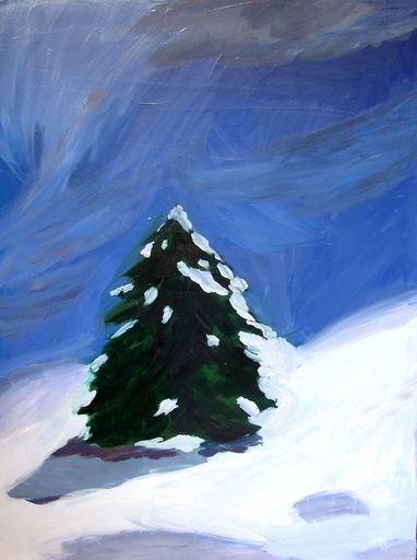 Karen Kilimnik, Blizzard (Siberia, September 28, 2001), 2001 on Paddle8