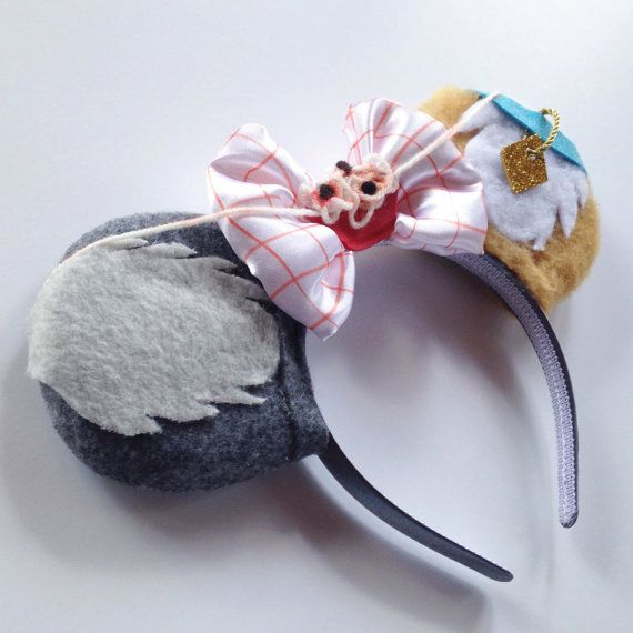 Magic Mouse Ears Lady and the Tramp by MakesYouSmile101 on Etsy