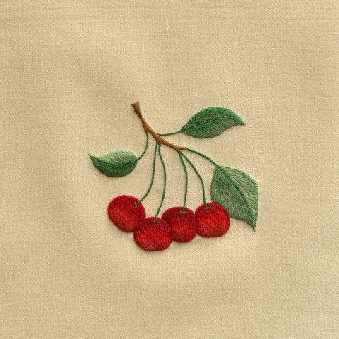 Cherries<br>Hand Towel