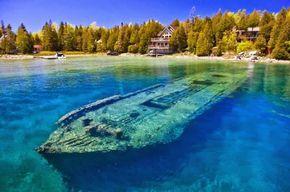 Naufrágios no Lago Huron