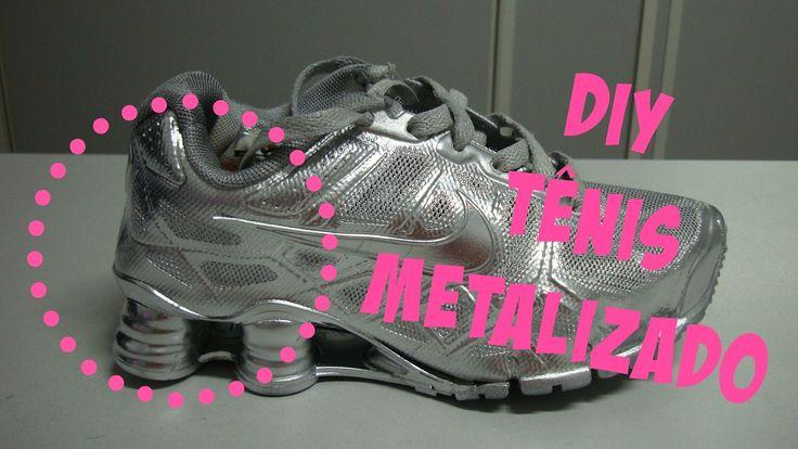DIY: Tênis Metalizado