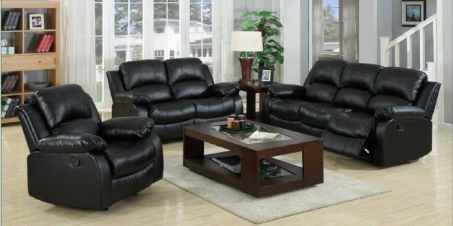 Black leather sofa sale; get your dream affordable leather sofa #LeatherSofablack
