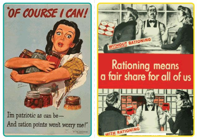 Teacher's Pet Displays » WWII Rationing Propaganda Posters » FREE downloadable EYFS, KS1, KS2 classroom display and teaching aid resources » A Sparklebox alternative