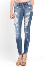 Ladies/Womens Super Skinny Destoyed Ripped Jeans Distressed stretchy Jeans/slim fit Distressed Denim jeans for women Best Seller follow this link http://shopingayo.space