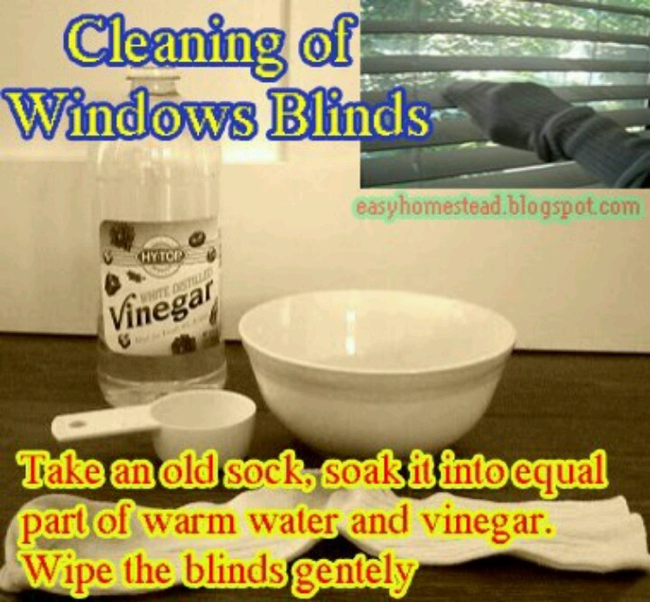 Clean blinds..it's works really well!!!!!