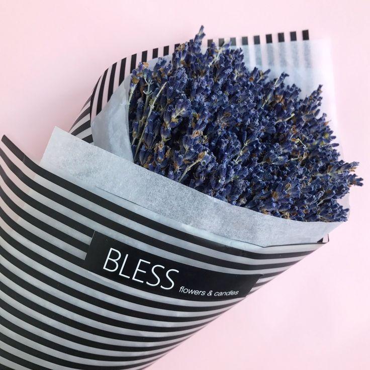 Пучок лаванды. Букет лаванды - Dried flowers. Dried bouquet. Lavender