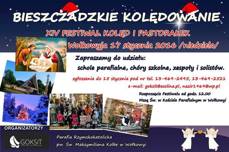 XIV Festiwal Kolęd i Pastorałek - Wołkowyja INFO. Serwis Informacyjny. / Urlop nad Jeziorem Solińskim - Noclegi w Bieszczadach - Domki i Kwatery - Jezioro Solińskie /