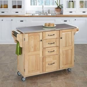 Spectacular Home Styles The Orleans Vintage Carmel Kitchen Utility Table