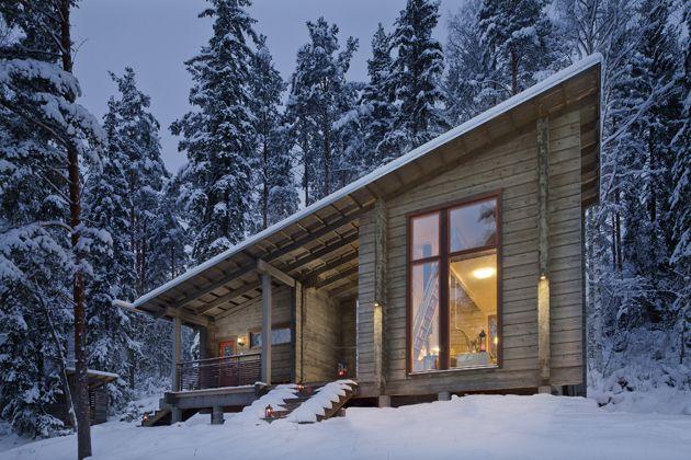 A modern Honka cottage. #Honka