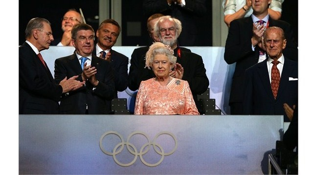 Queen Elizabeth II attends the Opening CeremonyQueen Elizabeth II attended the Opening Ceremony of the London 2012 Olympic Games at the Olympic Stadium on 27 July.