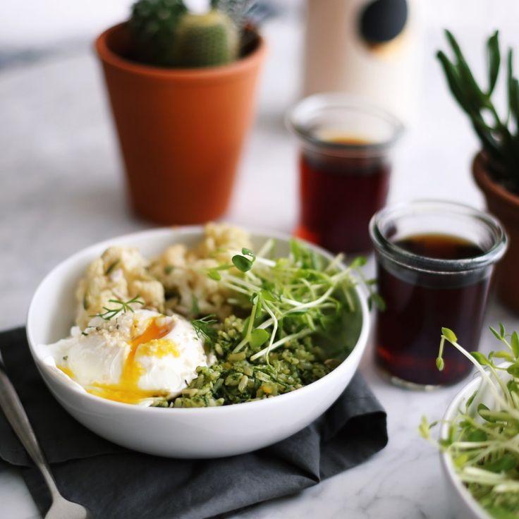 Thai Jasmine Rice with Hemp Seed Pesto Recipe - plant based + vegan // Alexandra Tallulah, inmybowl.com