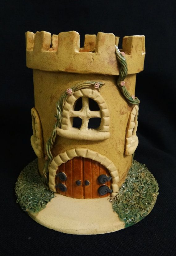 Fairy Tale Castle Oil Burner by AwenAlive on Etsy, £20.00