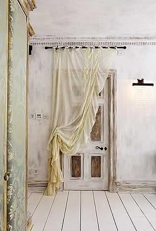 curtain idea for the door