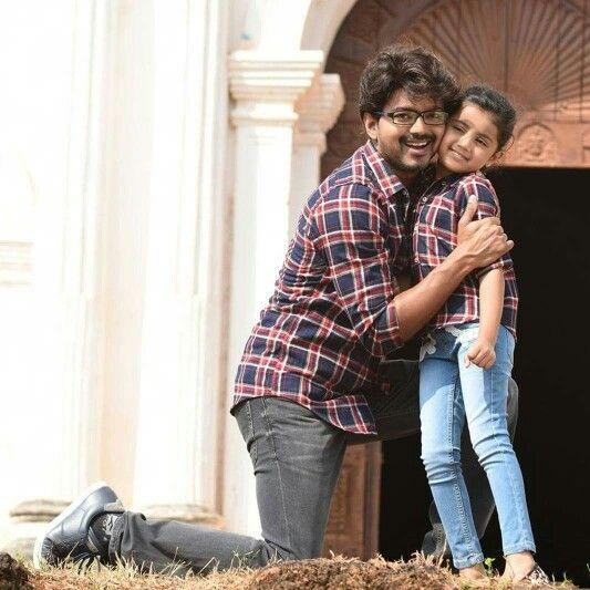 Cuties...baby nainika n Vijay :)