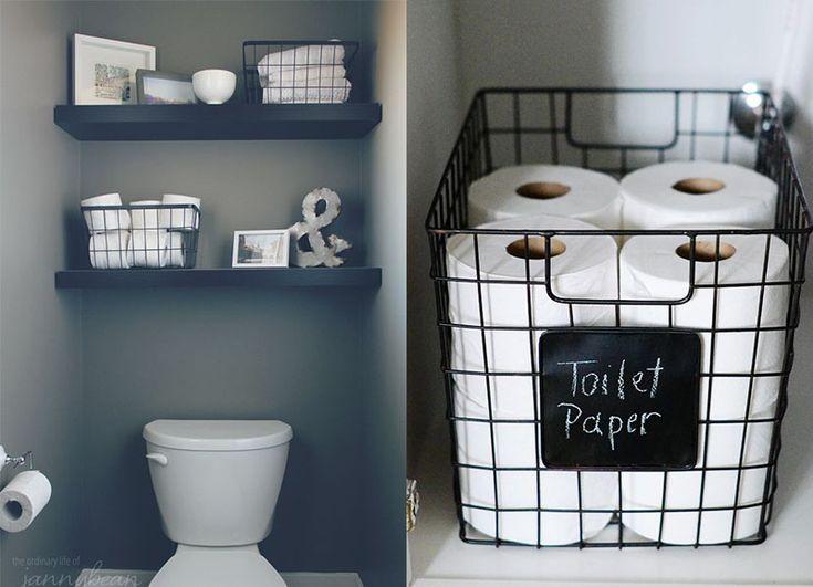 In de badkamer hebben we altijd ruimte te kort! Doe daarom inspiratie op door middel van deze 10 ...