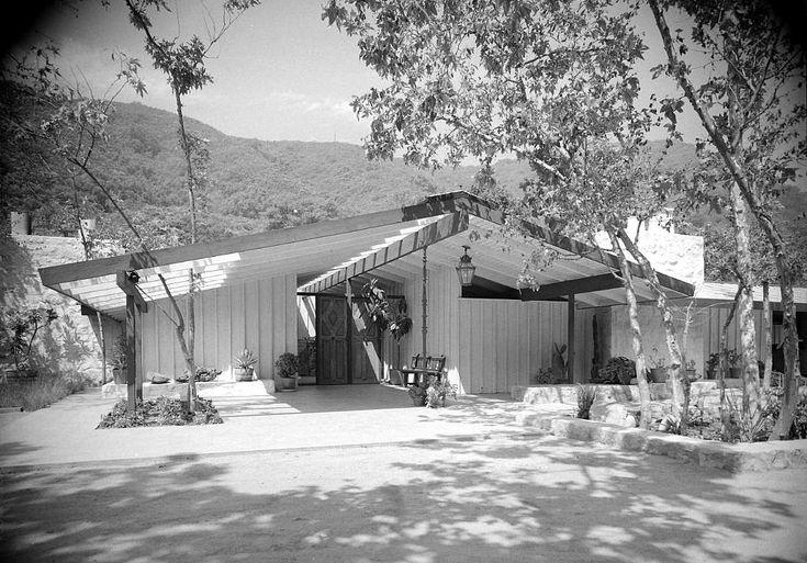 cliff may homes | Developer Cliff May's Last Home: MANDALAY, Old Ranch Road, Los ...