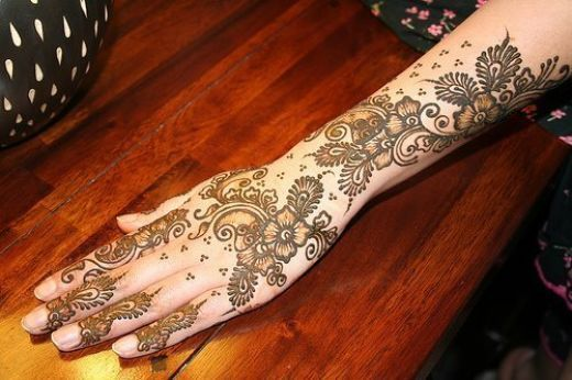 Arabic mehndi design 25