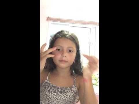 Gabriela Garcia 6 anos ensinando como se maquiar