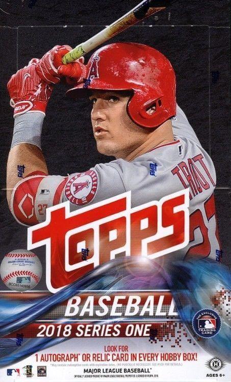 b1abddd9e1c 2018 TOPPS SERIES 1 BASEBALL HOBBY 12 BOX CASE BLOWOUT CARDS  BaseballCards   baseballreference
