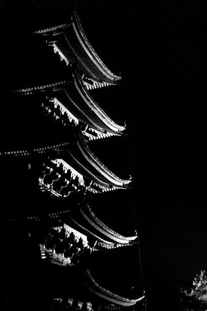 Five-story pagoda of Kofuku-ji temple, Nara, Japan 奈良 興福寺