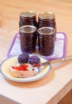 Italian prune plum jam