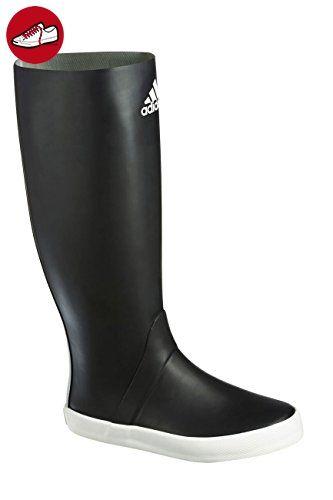 Adidas Sailing Harbour Gummistiefel schwarz/weiß, Größe EU 42 (UK 8) - Adidas schuhe (*Partner-Link)