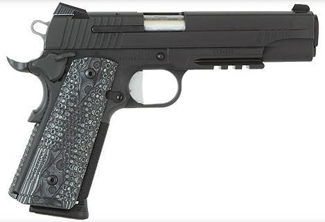 """Sig 1911 Extreme 45 ACP, 5"""" Govt, G10 Grips Find our speedloader now!  http://www.amazon.com/shops/raeind"""