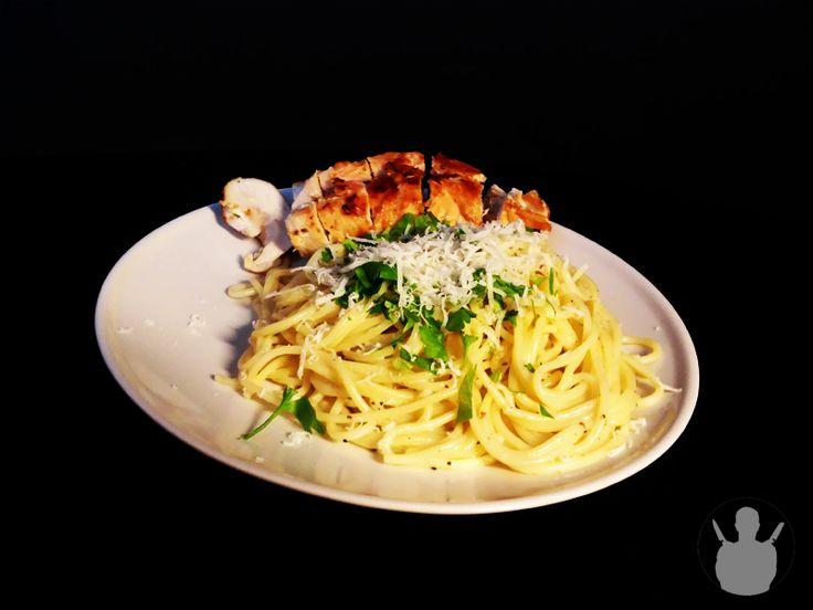 Rolada z kurczaka ze spaghetti w sosie pieprzowym | MR. CHEF - COOK'S BLOG