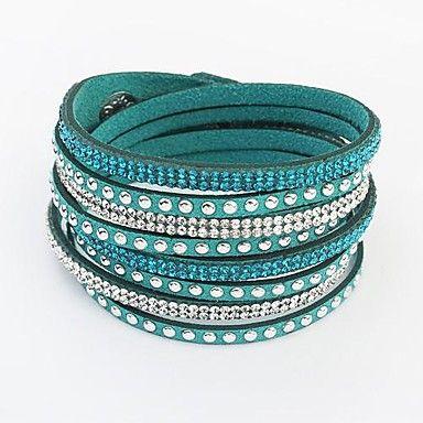 Europese stijl mode wilde lange lederen armband - EUR € 2.93