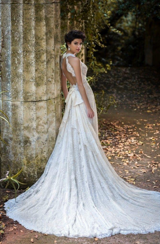 Vestiti da sposa schiena scoperta 2015 - Atelier Signore