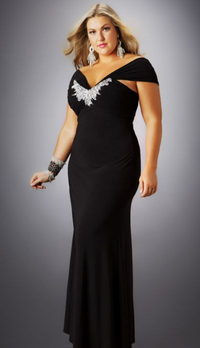 Plus Size Cocktail Formal Dresses