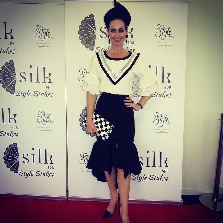 The winner of the inaugural @silkspa Style Stakes the elegant @elizabethcharleston
