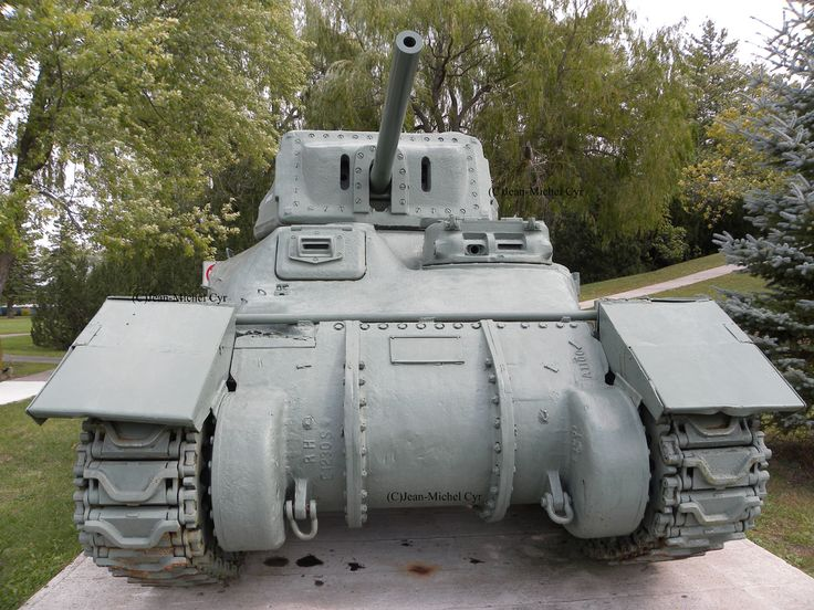 Cruiser tank Ram II Early Production   Canadian Army WW II  at Camp Borden, Ontario