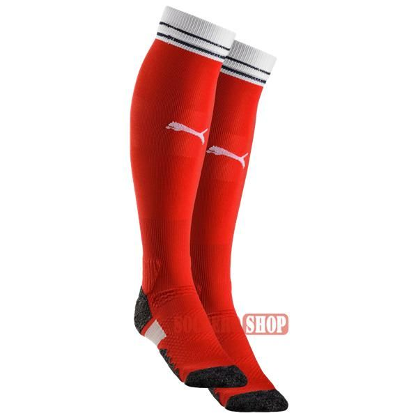 Bargain Price: Best Quality Arsenal Red Long Soccer Socks 2016 2017 Home Suppliers Direct Online Sale | Soccero-Shop